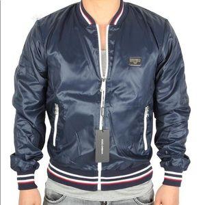 Dolce & Gabbana Navy Revesible Men's Jacket
